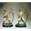 Lot 1 de deux Miliciens Archers