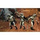 Les trois Guerriers-Tonnerre Corbeau