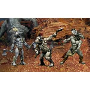 Les trois Guerriers-Tonnerre Loup