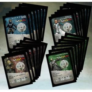 Lot des 4 sets de cartes