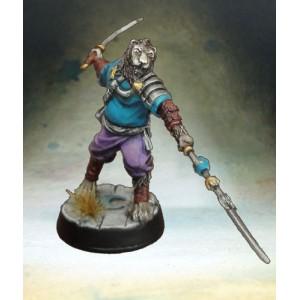 Gardien ermadhi 3 - lance et épée
