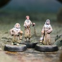 Set of 3 Templar auxiliar