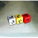 Set de 3 dés gravés Alkemy