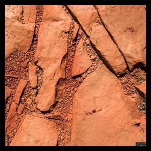 Fabric battlemat Rocky Desert 24x24