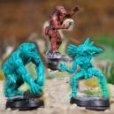 Chaman-Nuit Loup et les 2 esprits