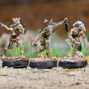 Lot 3 guerriers vent corbeau