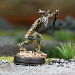 Guerrier-Vent Corbeau 1 - les 2 bras écartés