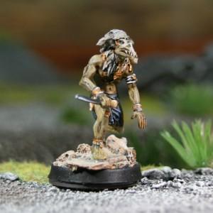 Guerrier-Vent Corbeau 3 - accroupi