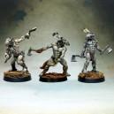 Les trois Guerriers-Tonnerre Loup (plastique)