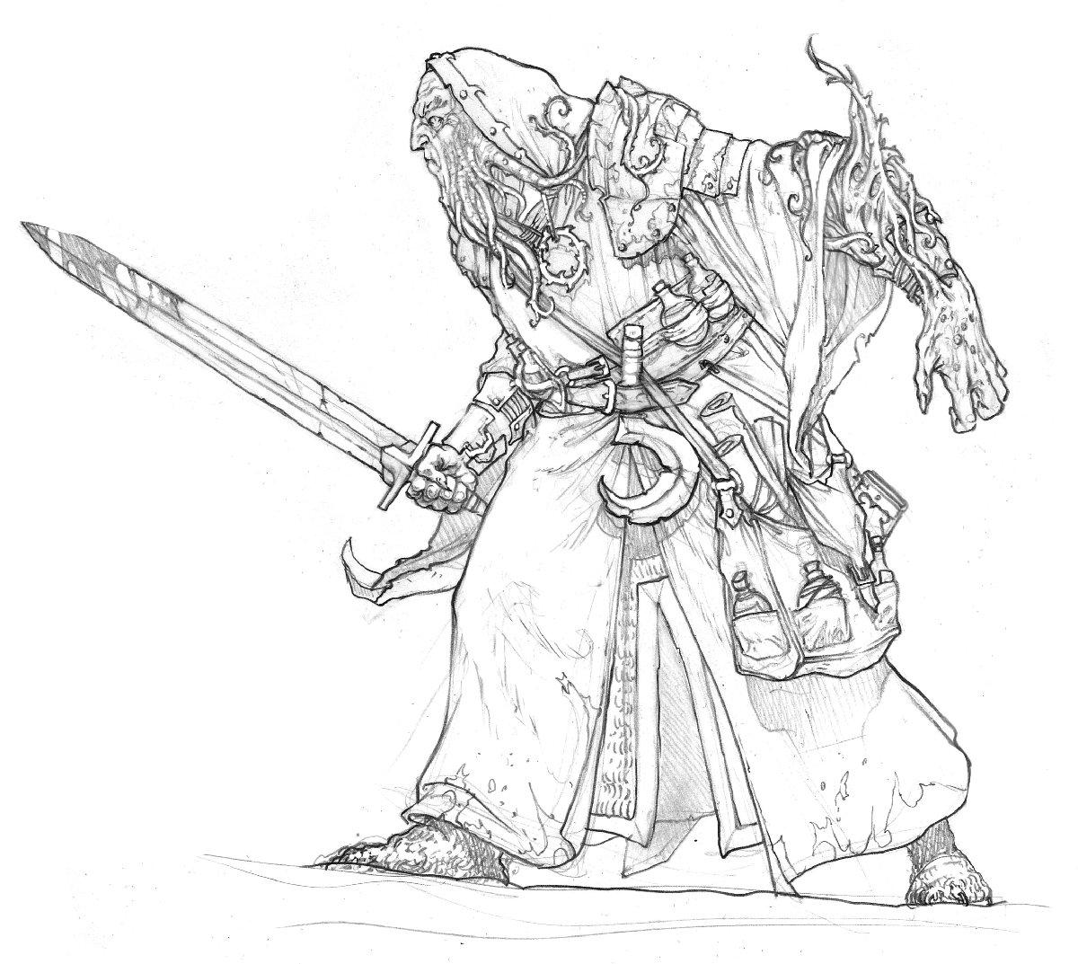 Templar Collector-Monk