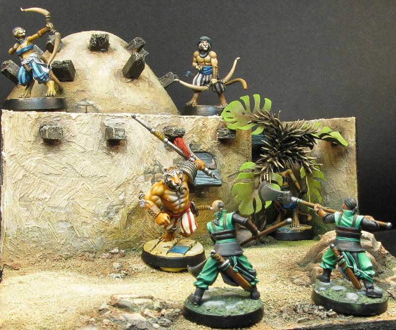 Ghulam et tuaregs contre gardes triadiques