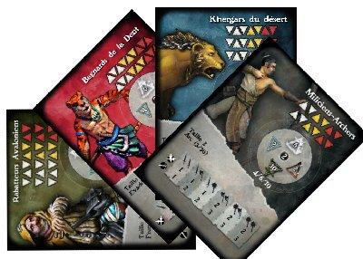 Multi-Card miniatures