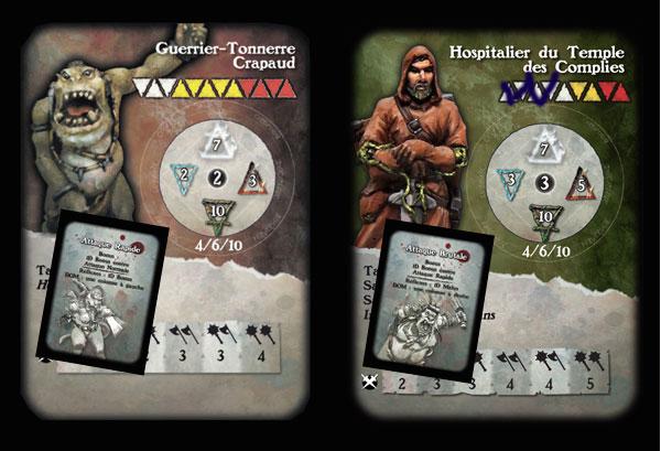 carte de combat