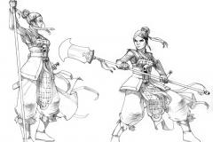 garde triadique femme