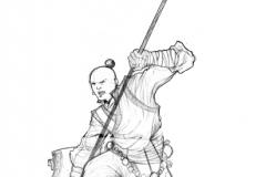 milicien lancier homme