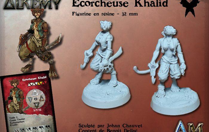 Figurine écorcheuse Khalid
