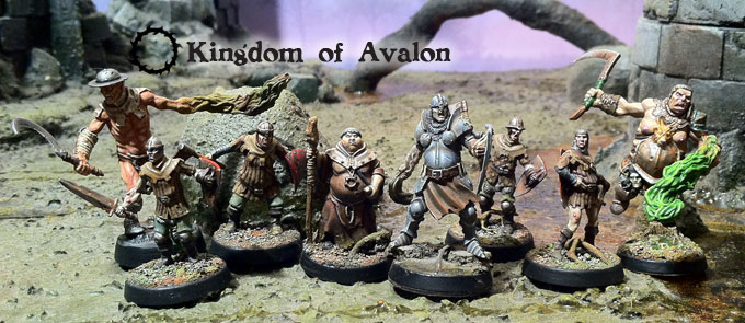 Starter Avalon for miniatures game Alkemy