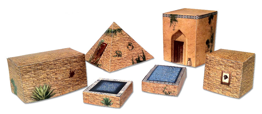 Scenery sets for starter box