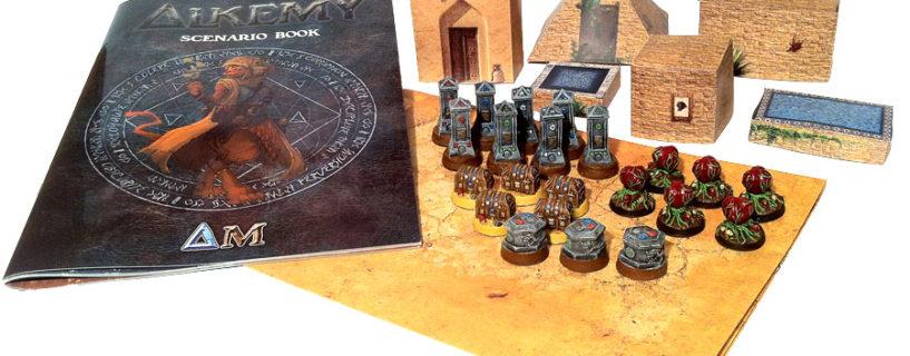 Kickstarter Alkemy : Les packs décors