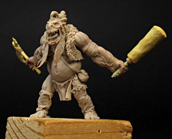 Special miniature 10th anniversary sculpted by Allan Carrasco