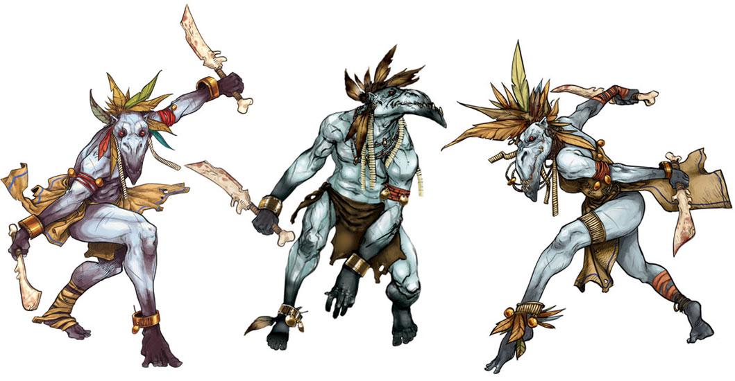 Les 3 guerriers vent corbeau pour la Nation Aurlok