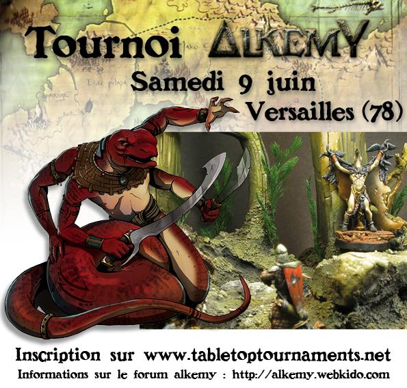 Tournoi Alkemy le samedi 9 juin à Versailles