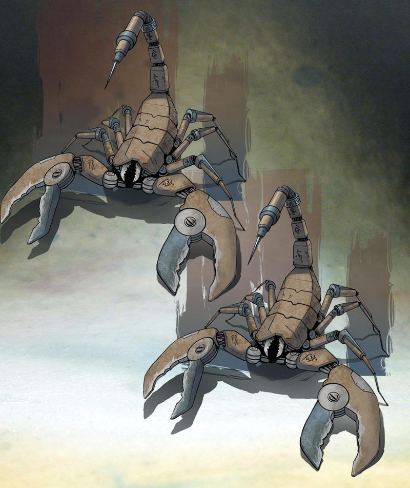automatons de combat