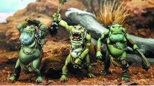 Toad Thunder Warriors