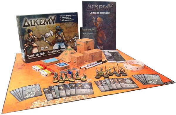 Boite de démarrage Alkemy pour 2 joueurs