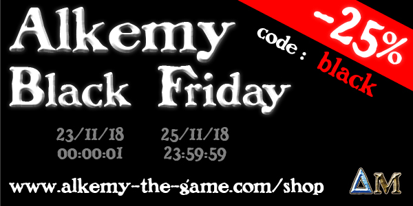 Alkemy Black Friday