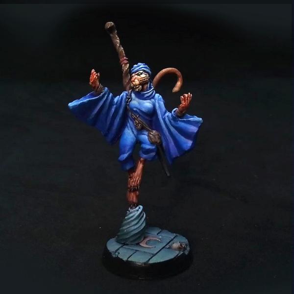 Litam Bint Sorhna, Summoner of the Sorority - Alkemy, Miniatures Game