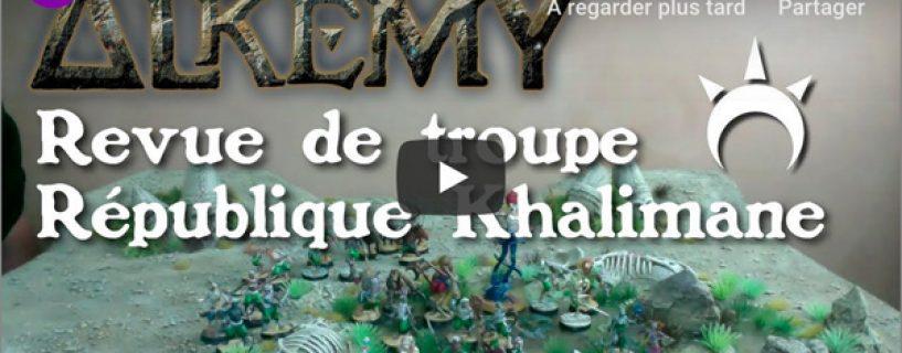 Vidéo – revue de troupe République Khalimane