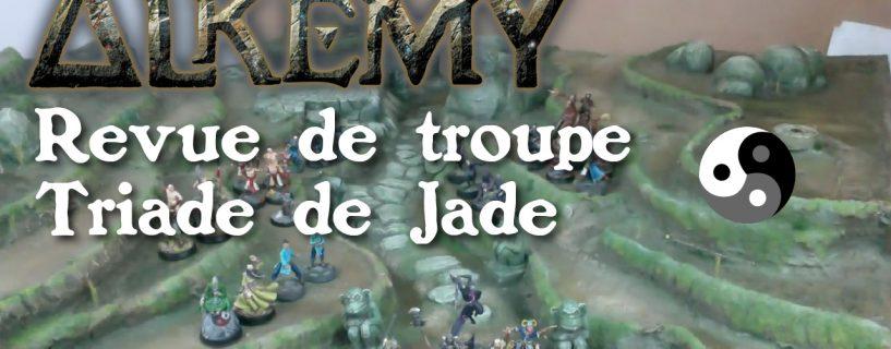 Vidéo – Revue des troupes Triade de Jade