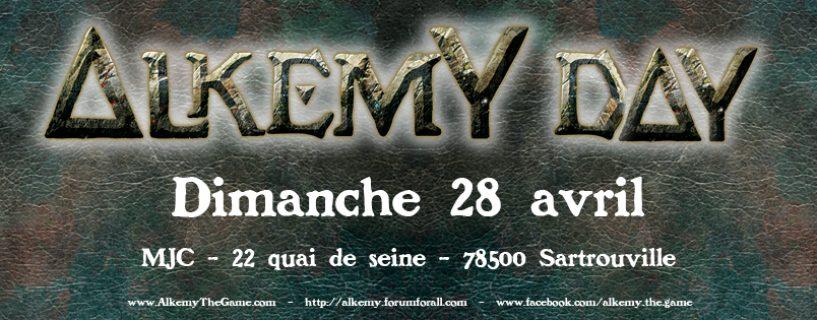 Alkemy Day le dimanche 28 avril