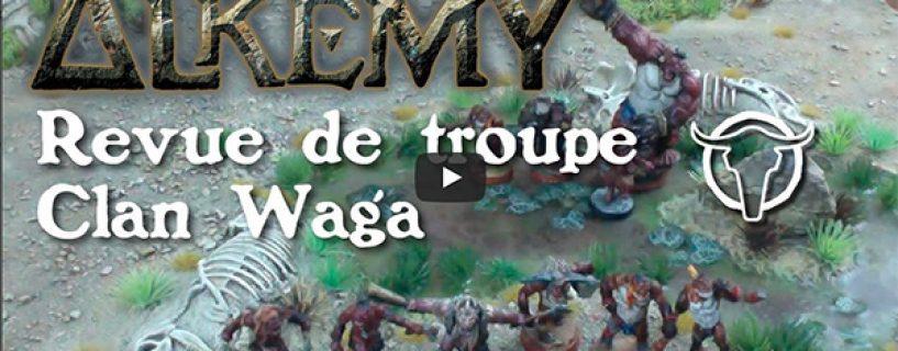 Vidéo – revue de troupe Clan Waga