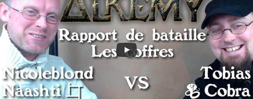 Vidéo – rapport de bataille sur les coffres