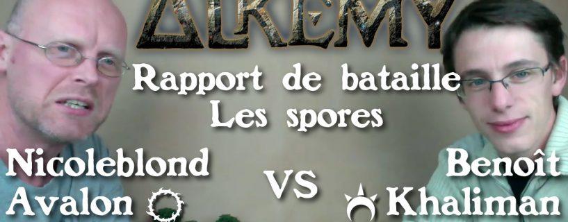Vidéo rapport de bataille sur les spores