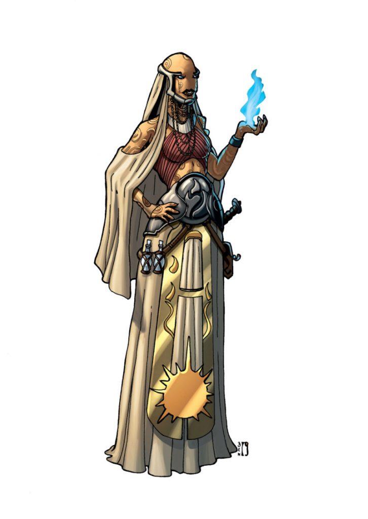 Prêtresse de Rados
