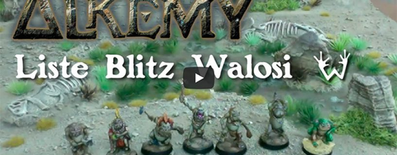Vidéo – liste blitz Walosi