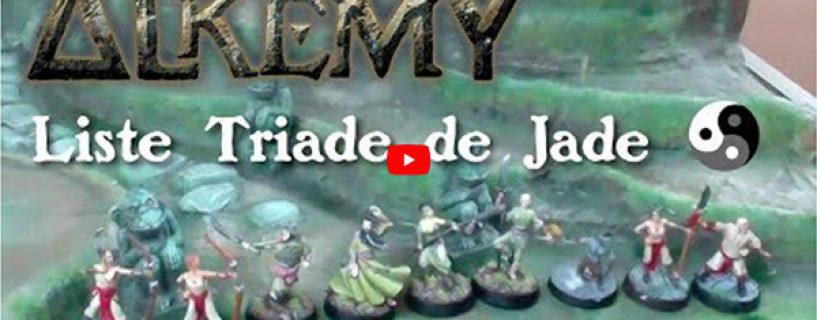 Vidéo liste blitz Triade de Jade