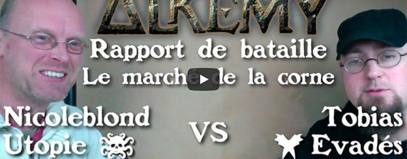 Vidéo – rapport de bataille – le marché de la corne