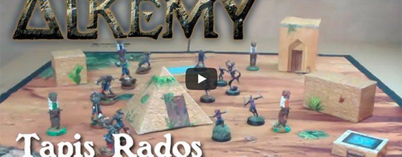 Vidéo tapis désert Rados