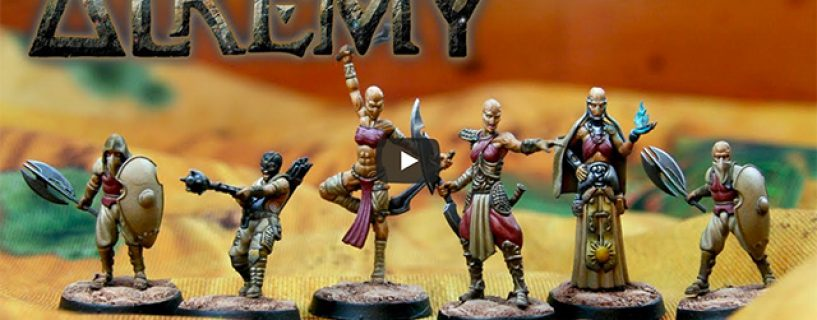 Vidéo – présentation du kickstarter alkemy
