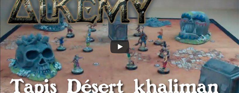 Vidéo tapis – désert khaliman