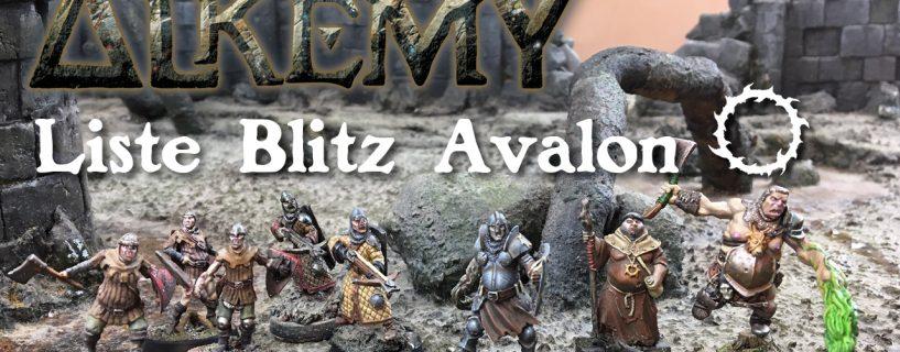 Vidéo liste blitz Royaume d'Avalon
