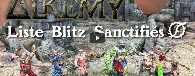 Vidéo – liste blitz sanctifiés
