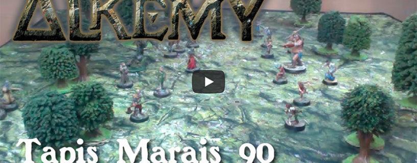 Vidéo – Tapis Marais 90×90