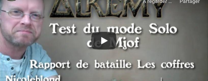 Vidéo – test mode solo et rapport de bataille