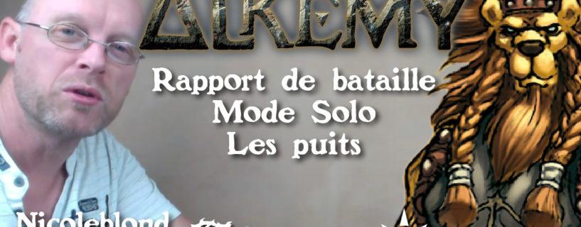 Vidéo – rapport de bataille – mode solo – les puits
