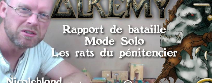 Rapport de bataille – mode solo – les rats du pénitencier